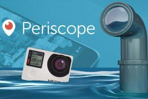 gopro periscope canlı yayın