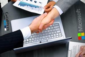 microsoft gopro anlaşması
