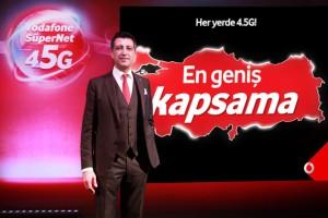 Vodafone'da kampanya: 4.5G bir ay boyunca ücretsiz