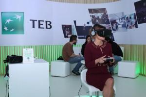TEB'den sanal gerçeklikle gezilen ilk sergi