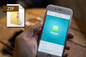 WhatsApp'a yeni özellik: Zip desteği geliyor
