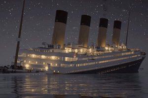 Titanic batışını gerçek zamanlı izleyin