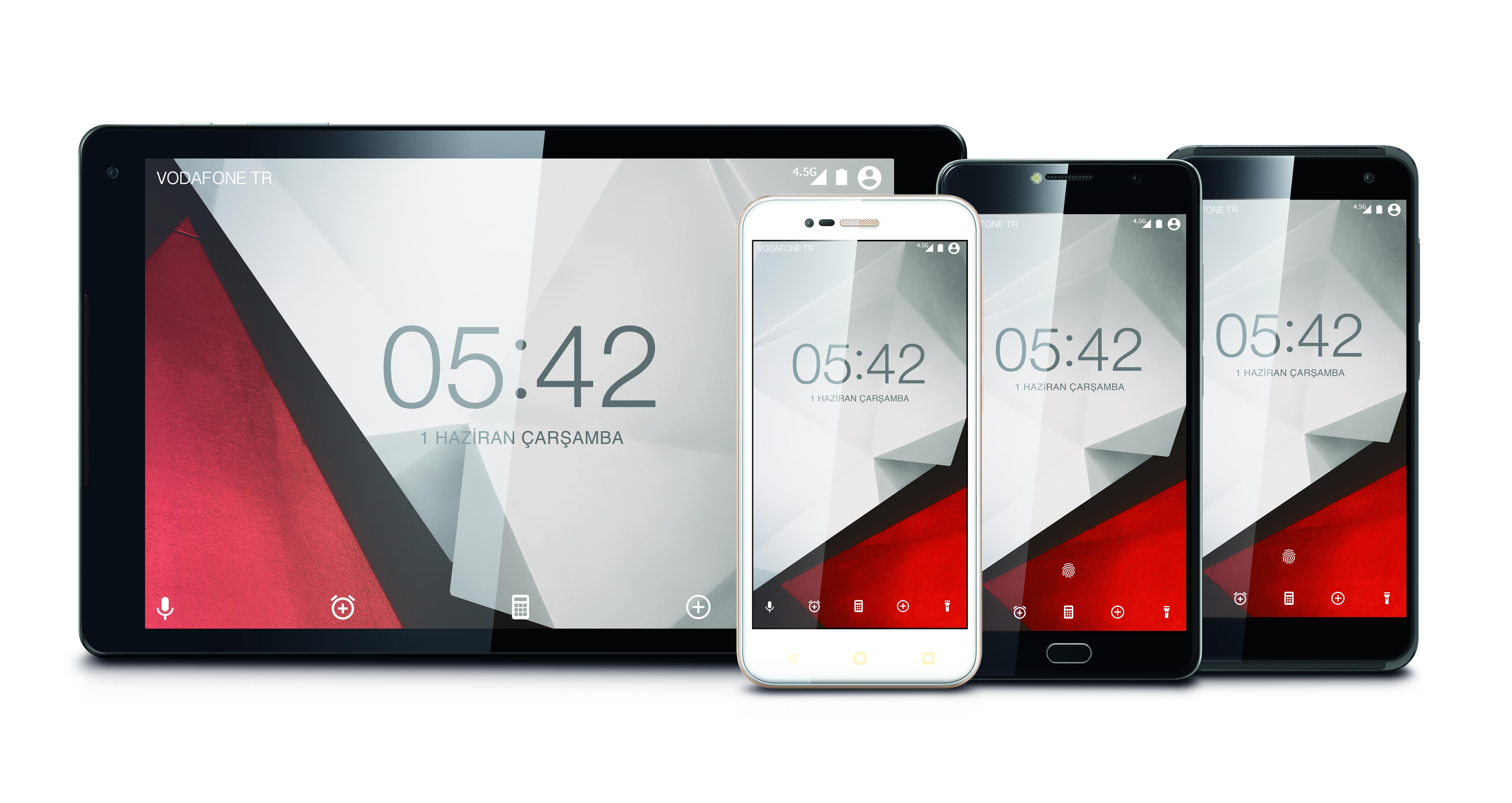 Vodafone'dan yeni akıllı telefon ve tablet serisi