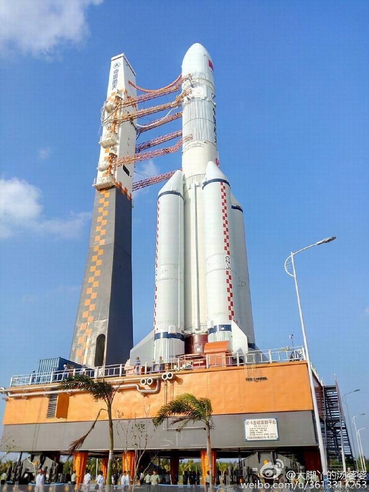 Çin uzay roketi geliştiriyor