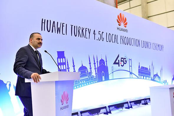 BTK, Huawei'nin 4.5G tesisi açılışına katıldı