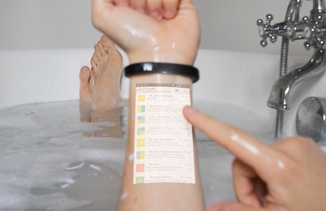 Samsung projeksiyonlu akıllı saatiyle devrim yapacak