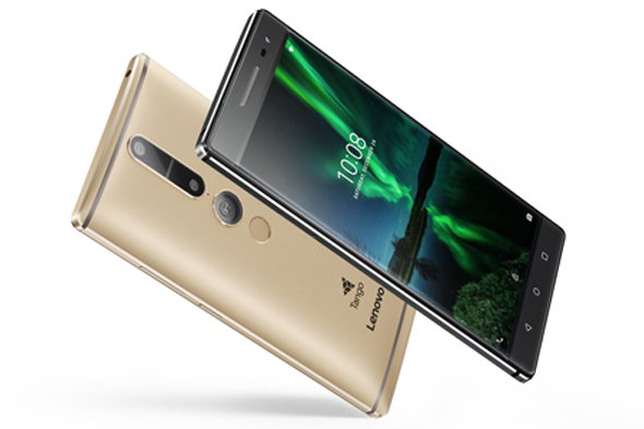 Lenovo Tango'lu telefonuyla sanal gerçeklik yaşatacak