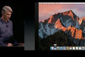 macOS Sierra tanıtıldı!