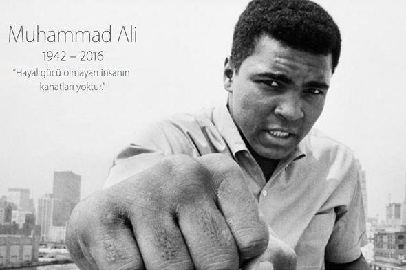 Apple'dan Muhammed Ali'ye vefa