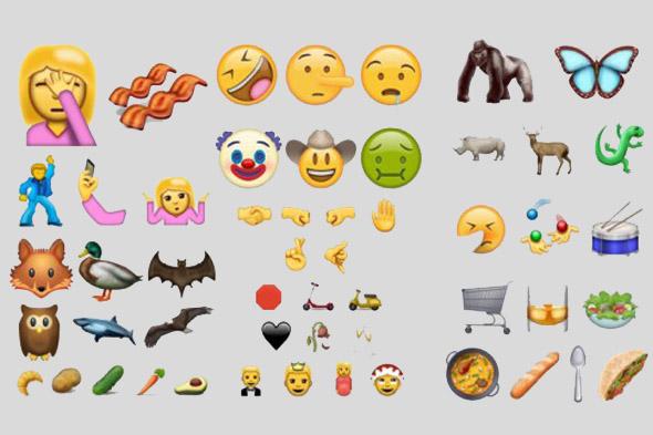 72 yeni emoji geliyor