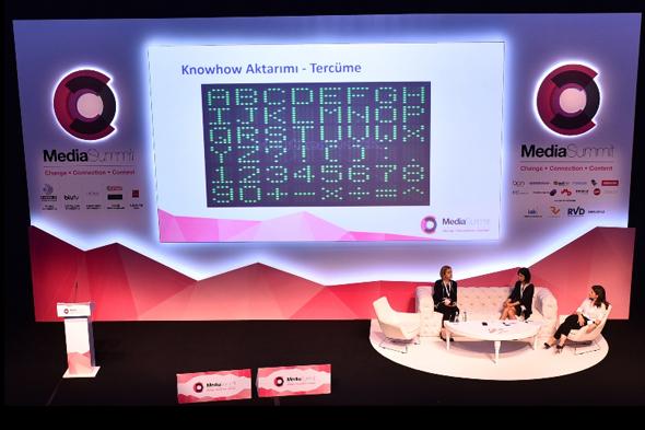 """Media Summit'te gündem """"Dijital Dönüşüm""""dü"""