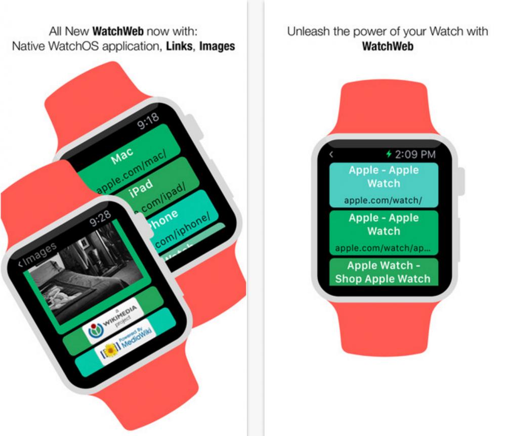 Apple Watch'a internet tarayıcısı geldi