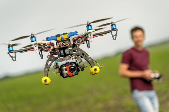 Drone'lu ilk ticari transfer