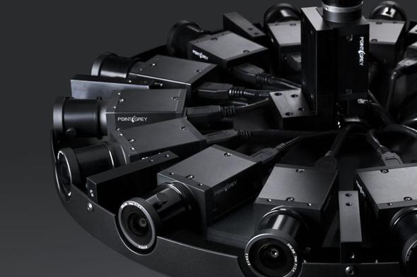 facebook 360 derece kamera