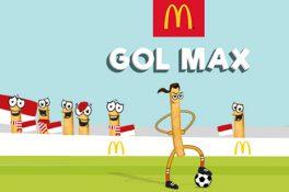 McDonald's için eğlenceli oyun: Gol Max Çift Ekran