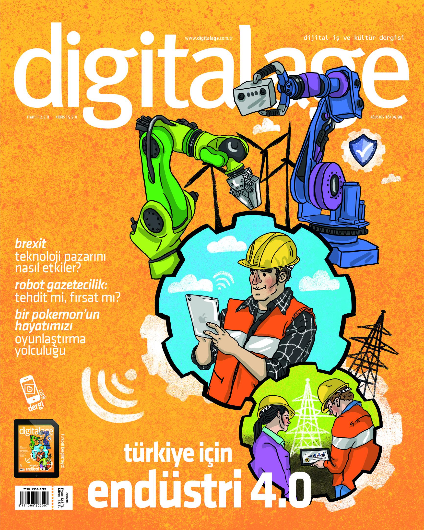 Digital Age Ağustos sayısı çıktı!