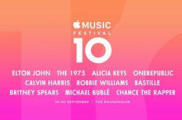 Dünya starları Apple Music Festival'de