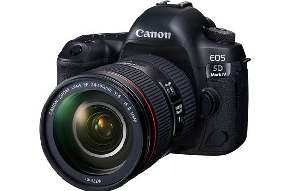 Canon, EOS 5D Mark IV'ü tanıttı