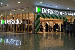 DeFacto'nun yeni pazarı Suudi Arabistan