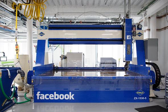 Facebook, üretim laboratuvarından ilk görüntüler