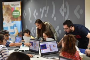 Garanti Bankası'ndan çocuklara kodlama eğitimi
