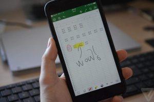 iPhone'a Microsof Office çizim özelliği geldi
