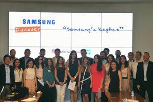 """""""Discover Samsung"""" ile iş hayatına adım attılar"""
