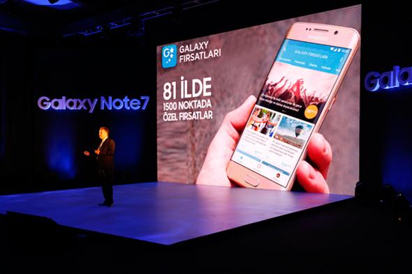 Galaxy Note 7 Türkiye fiyatı ve satış tarihi açıklandı