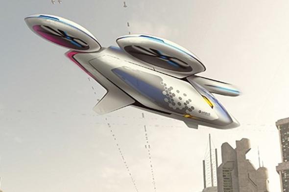 Airbus'tan uçan taksi atağı