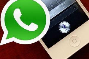 WhatsApp'a Siri entegrasyonu