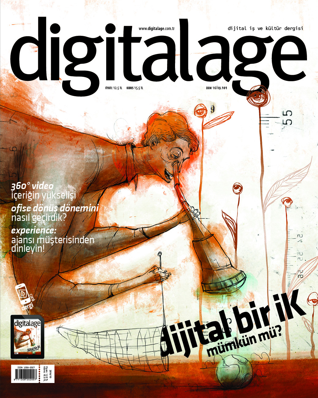 Digital Age Ekim 2016 Cover