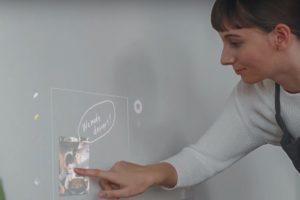 Sony'den yüzeyi dokunmatiğe çeviren projektör