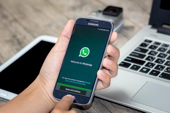 WhatsApp'a da kişileri etiketleme özelliği geldi!