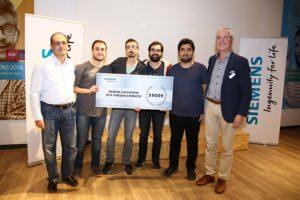 Siemens Hackathon Yarışması'nın kazananları belli oldu