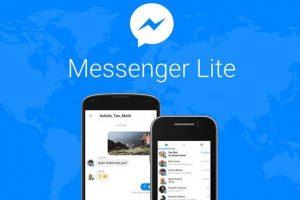 Android'e Messenger Lite geldi