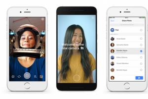 Facebook'a Snapchat vari özellikler geliyor