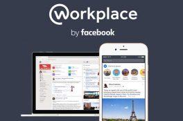 Facebook, Workplace'i kullanıma sundu