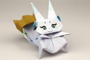 Final Fantasy ile origami yapıyoruz