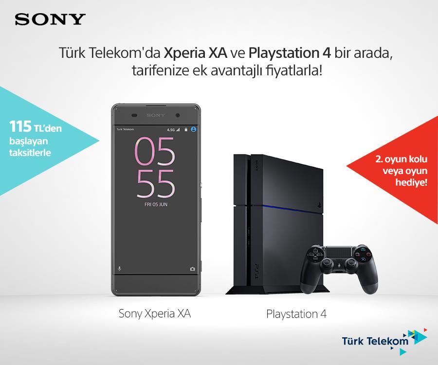 türk telekom sony playstation 4