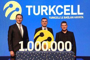 turkcell 1 milyon fiber