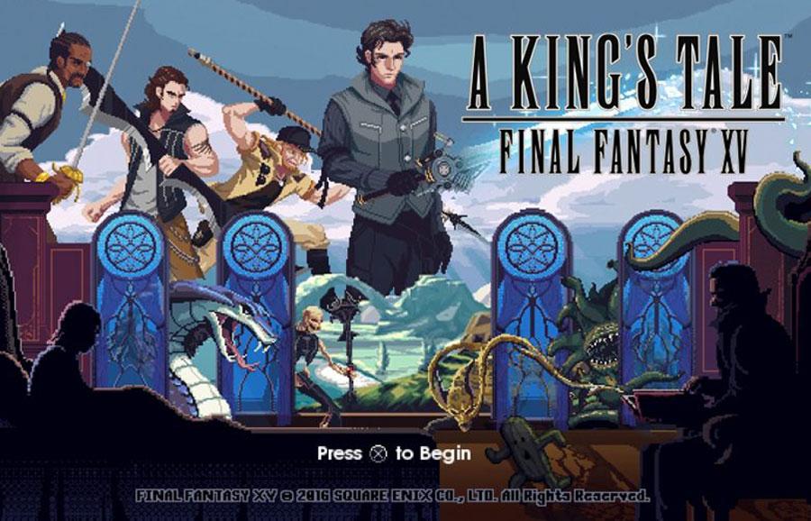 A King'a Tale: Fİnal Fantasy XV bugünden itibaren herkese ücretsiz