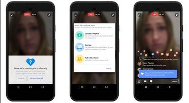Facebook Live'a intiharı önleme araçları eklendi