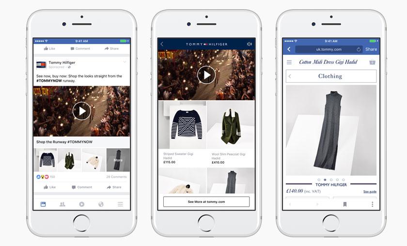 "Facebook'tan yeni reklam formatı: ""Collections"""