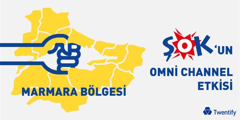 Marmara Bölgesi'nde ŞOK'un Omnichannel Başarısı