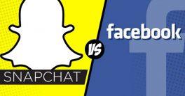 Sosyal dünya savaşında Facebook vs Snapchat