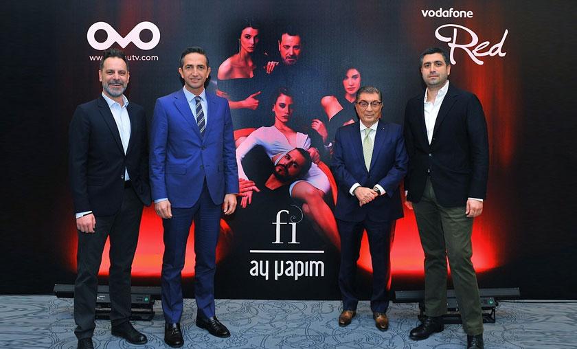 "Vodafone ""Fi""nin ana sponsoru oldu"