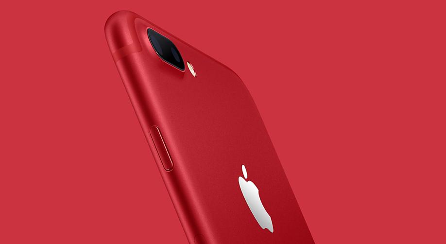 Kırmızı iPhone 7 ve iPhone 7 Plus tanıtıldı