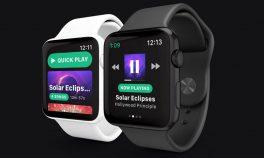 Apple Watch'a özel Spotify uygulaması yolda