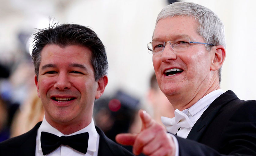 Apple'ın CEO'su Tim Cook'tan Uber'e gözdağı