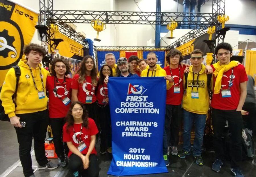 Bahçeşehir Koleji robotik takımı ABD'den 2 ödülle döndü